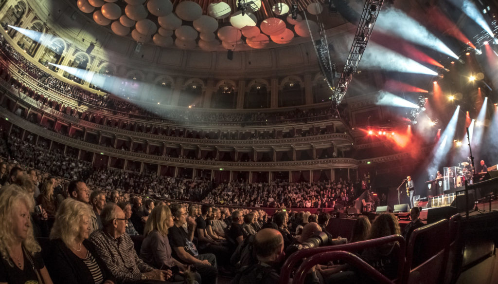 image of Joe Bonamassa concert by Marty Moffat at royal albert hall london april 2019