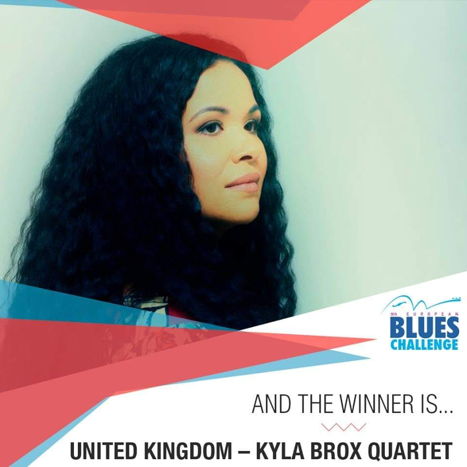 image of european blues challenge winner uk artist kyla brox 2019