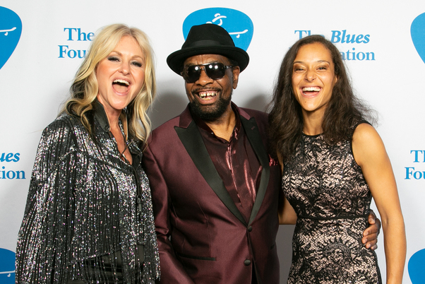 photo taken at the bma's, memphis of Mindi Abair, William Bell, Vanessa Collier by Alex Ginsburg