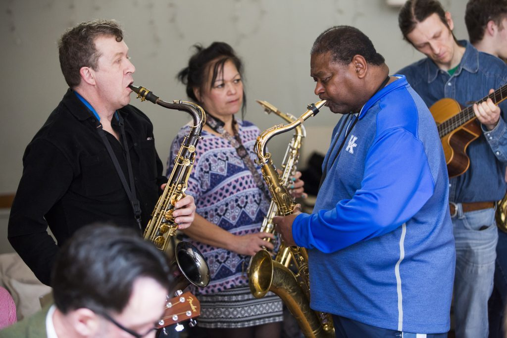 image of Pee Wee Ellis workshop – 2015 - bristol jazz and blues festival