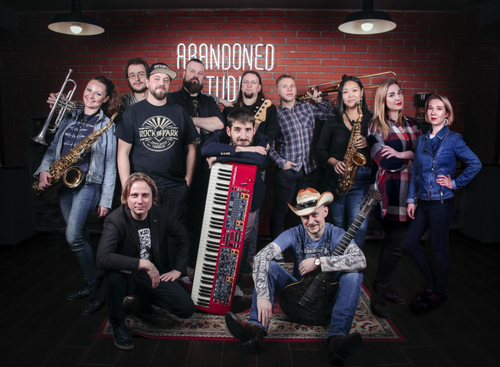 image of russian blues metal band wicked rumble