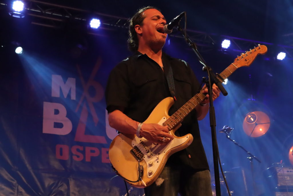 image of Dave Herrero at moulin blues by Jennifer Noble