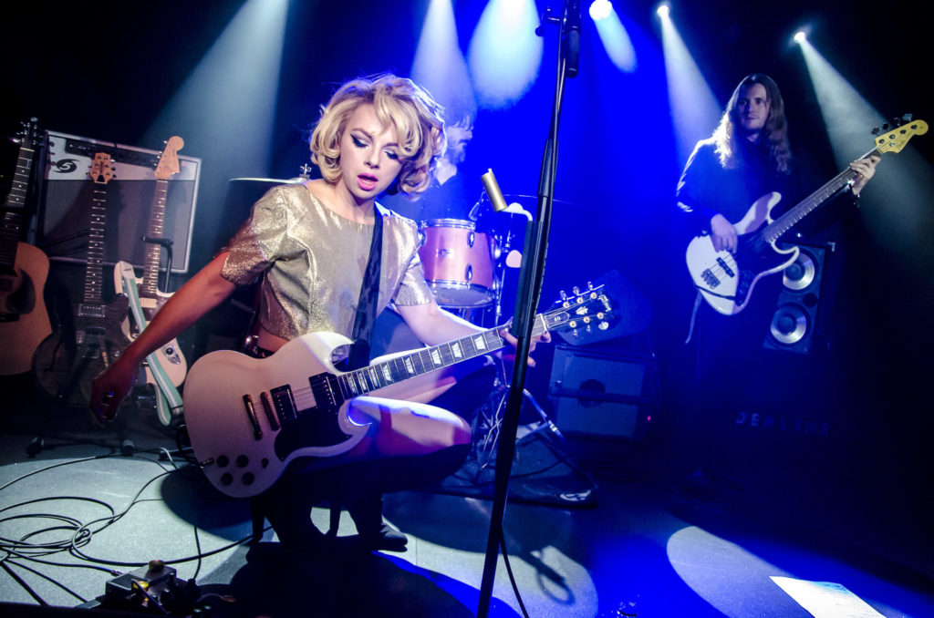 image of blues performer Samantha Fish by Edyta Krzesak