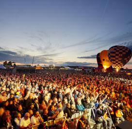 image of crowd at silverstone classics music concerts