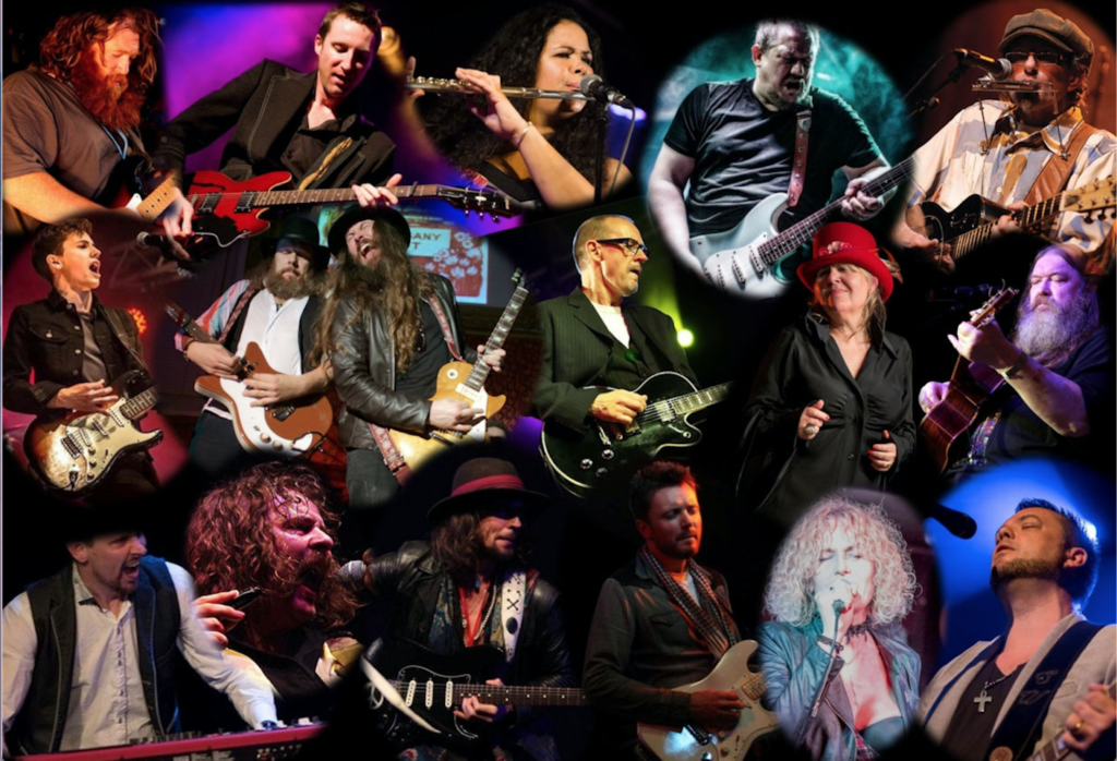 image of artists performing at carlisle blues rock festival 2019