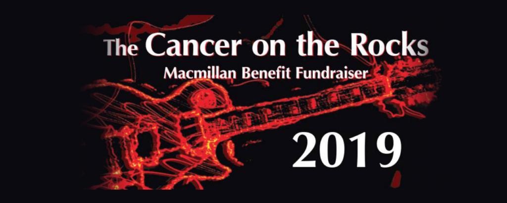 image of banner for cancer on the rocks festival, london