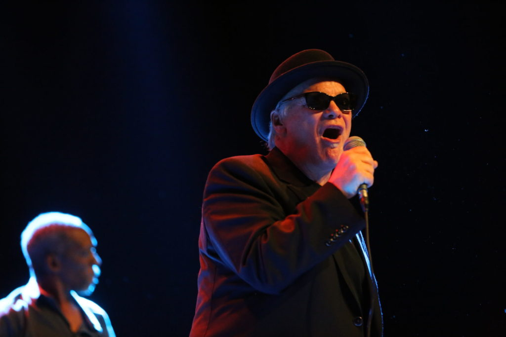 image of blues legend curtis salgado at blues heaven festival in denmark