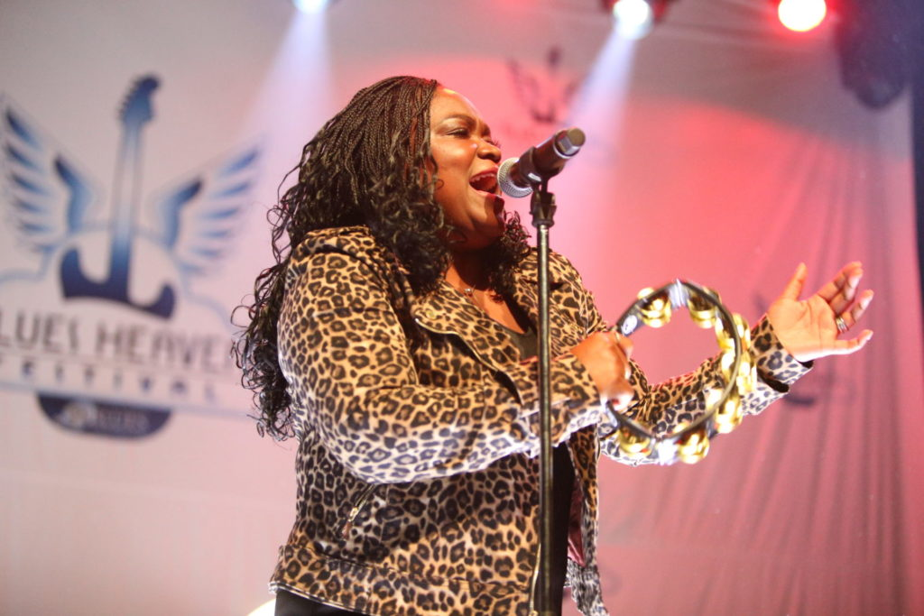 image of shemekia copeland at blues heaven festival by jennifer noble