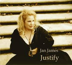image of jan james album cover - justify
