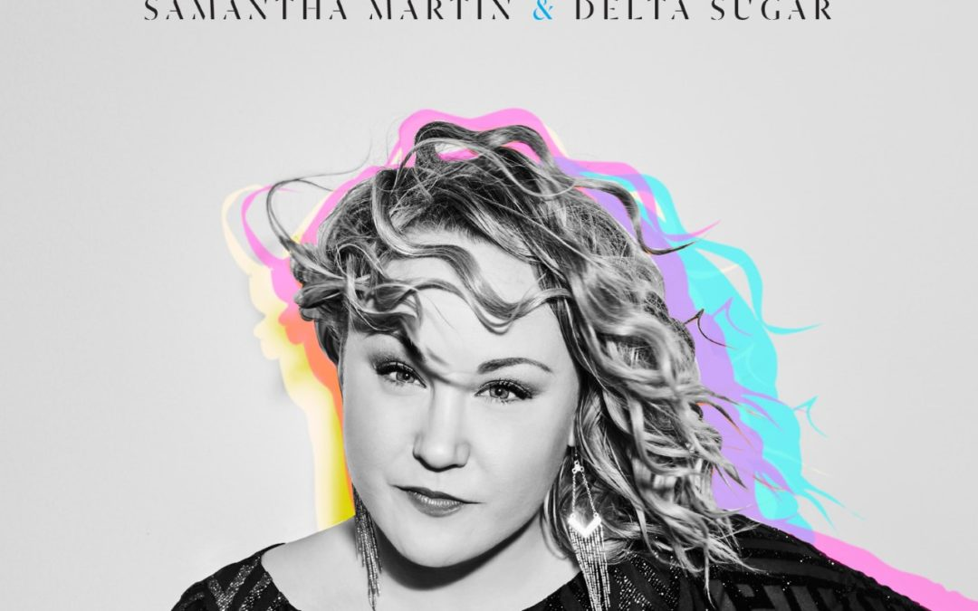 album cover for samantha martin and delta sugar's run to me
