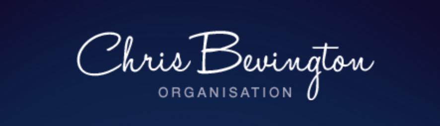 image of logo banner for chris bevington organisation
