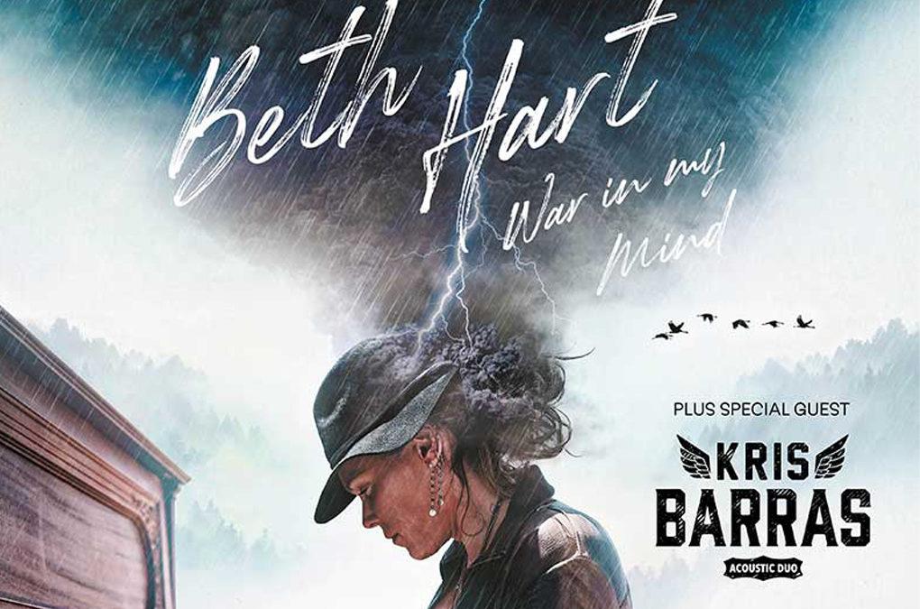 BETH HART kicks off UK tour!