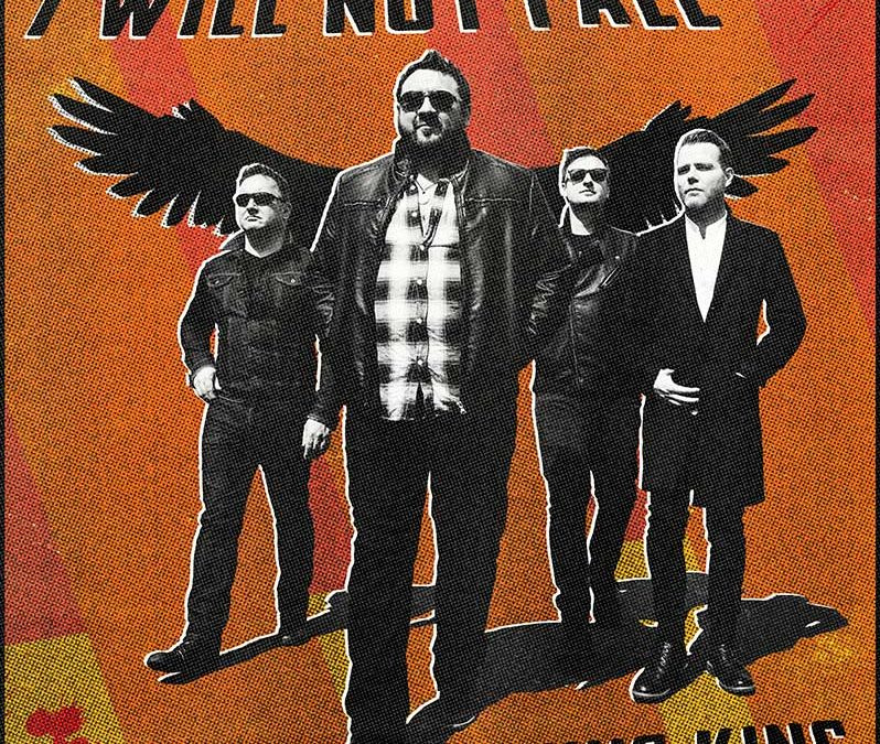 image of king king I will not fall album cover