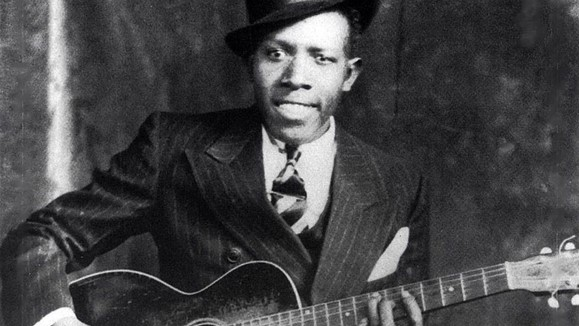 image of blues master robert johnson