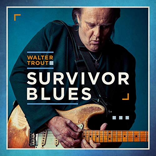 image of album cover for walter trout survivor blues album cover