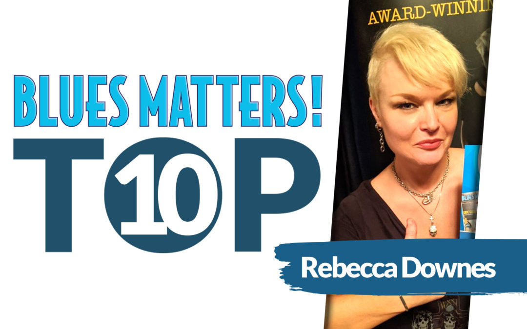 image of rebecca downes for blues matters magazine