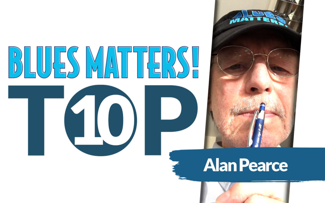 image of alan pearce editor in chief of blues matters magazine