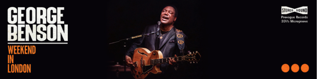 image of george benson banner