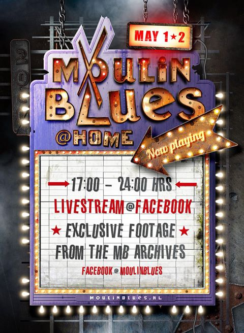 image of advert for moulin blues livestream event on facebook may 2020