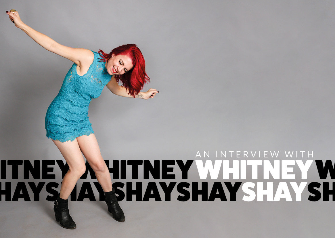 image of whitney shay in blues matters magazine