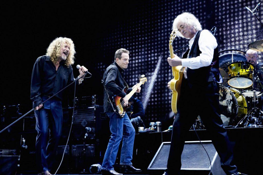 image of Led Zeppelin 2007 photo credit Kevin Westenberg cMythgem Ltd