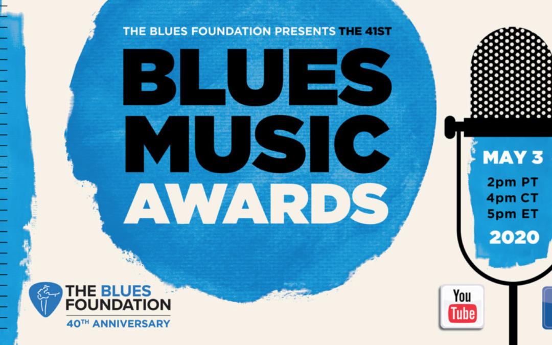image of blues foundation blues music awards 2020 logo