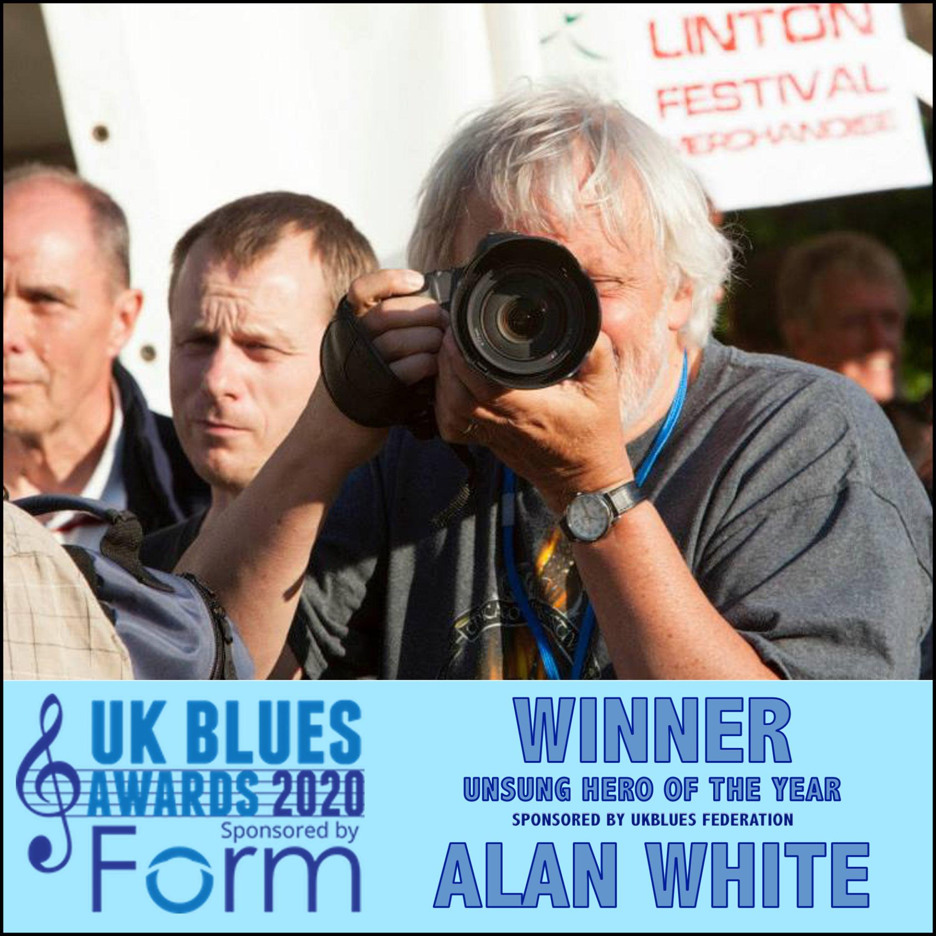 image of ukblues 2020 award winner alan white