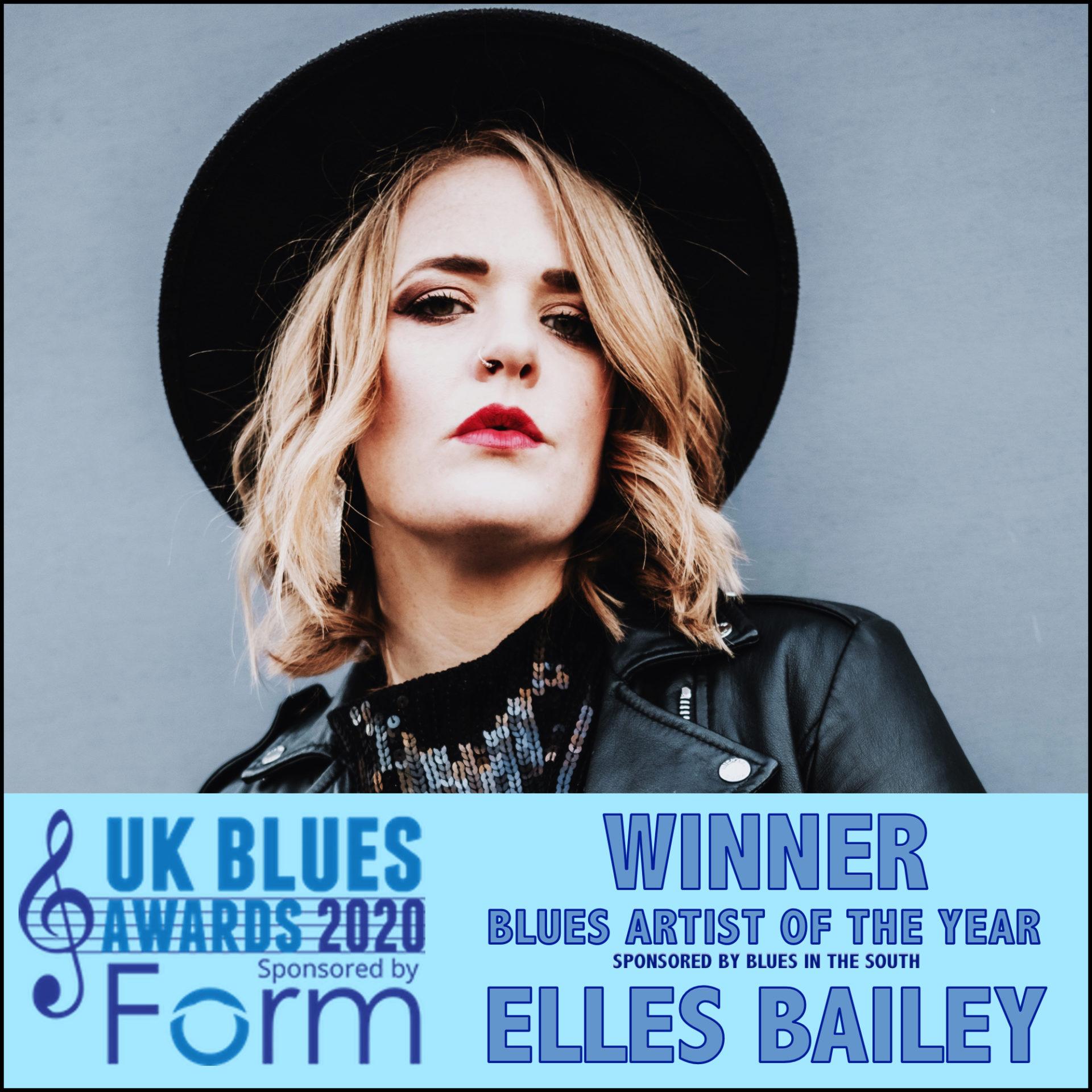 image of 2020 ukblues award winner elles bailey
