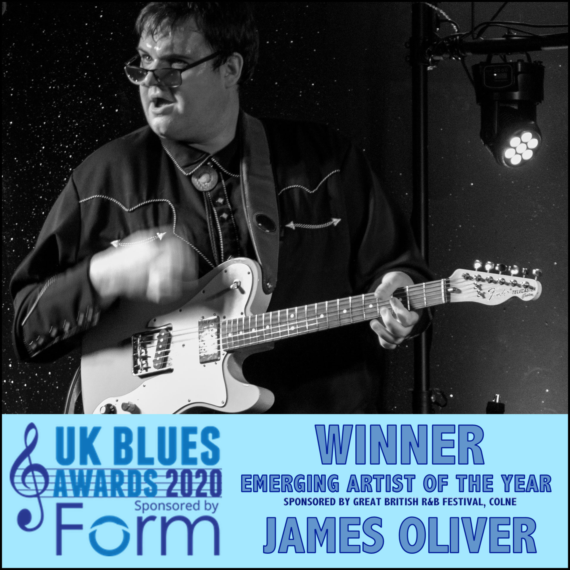 image of ukblues award winner james oliver