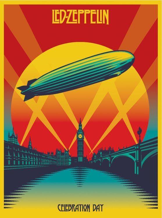 image of led zeppelin poster 2020