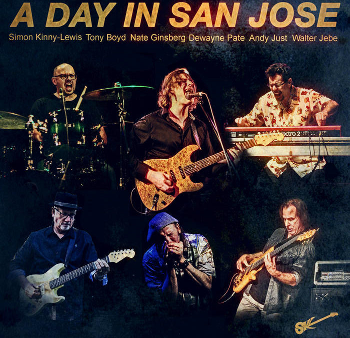 image of album cover for simon kinney-lewis a day in san jose