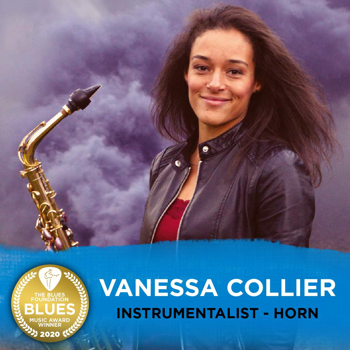 image of vanessa collier winner of bma
