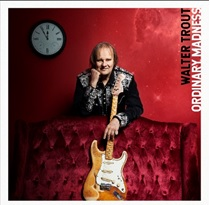 image of walter trout album cover for ordinary madness