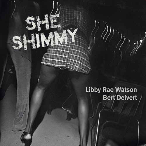 image of libby rae watson she shimmy album cover
