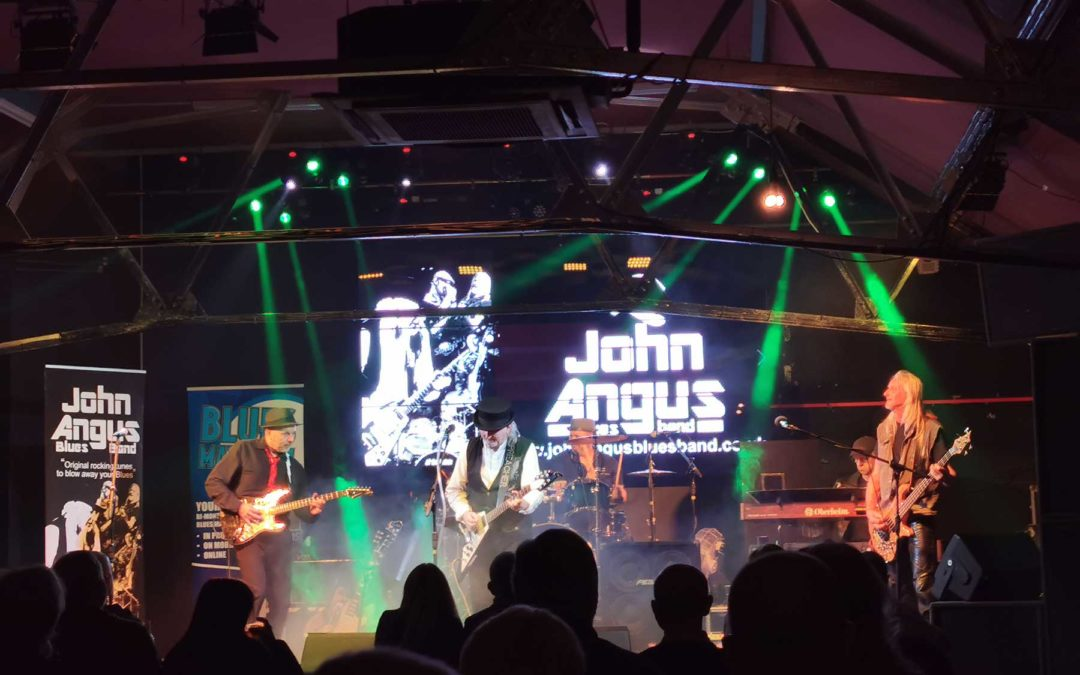 JOHN ANGUS BLUES BAND – LIVE AT THE ELEVEN CLUB
