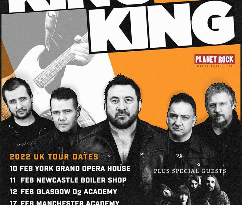 The Damn Truth special guests on King King's February 2022 UK Tour