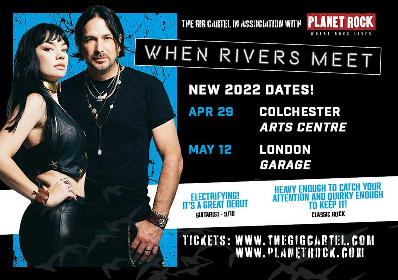 When Rivers Meet announce 2022 Headline Concerts in Colchester and London