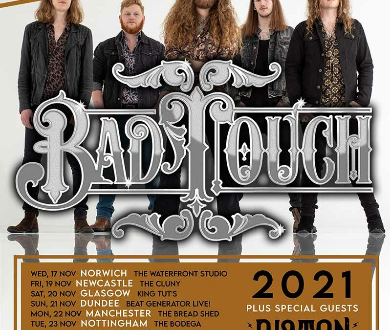 Bad-Touch-Nov-2021-Tour-Poster