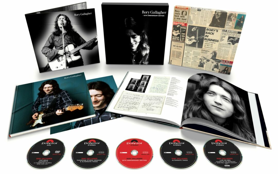 Competition Time – win the Rory Gallagher 50th Anniversary Box Set