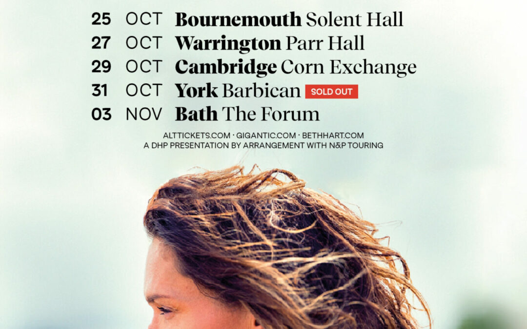 """Beth Hart announces """"Arielle"""" as special guest on her Thankful 2021 UK Tour"""